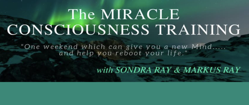 Miracle Consciousness Training Banner