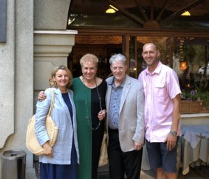 EVITA, SONDRA RAY, MAKUS RAY and JANIS in RIGA